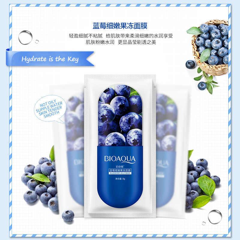 3 couleurs chaud soins de la peau Aloe Vera Blackberry plante masque Facial hydratant contrôle de l'huile enveloppé masque visage masque soins du visage