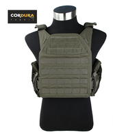 TMC FLPC Fight Light Plate Carrier Airsoft Outdoor Military Molle Army Vest Ranger Green RG(SKU051296)