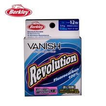 Berkley VANISH Revolution 150M Fluorocarbon Fishing Lines 2.5-14LB Super Strong Brand Leader Line Clear Shadowless Resistance