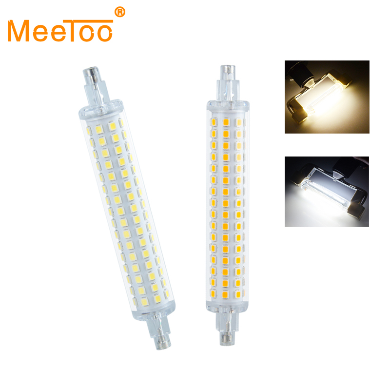 R7s led 78mm 118mm led lampada ac 220v 110v corn lamp for Lampada led r7s 118mm dimmerabile
