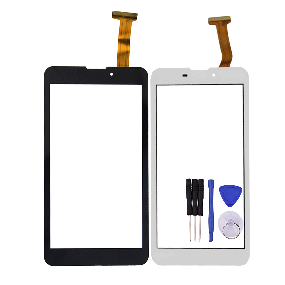 New 6 Inch Black/White OGS XCL-S60002A-FPC3.0 Touch Panel for ZUUM E60 MID Glass Sensor Digitizer Replacement studio m new black white women s large l a line sweater panel skirt $78 203