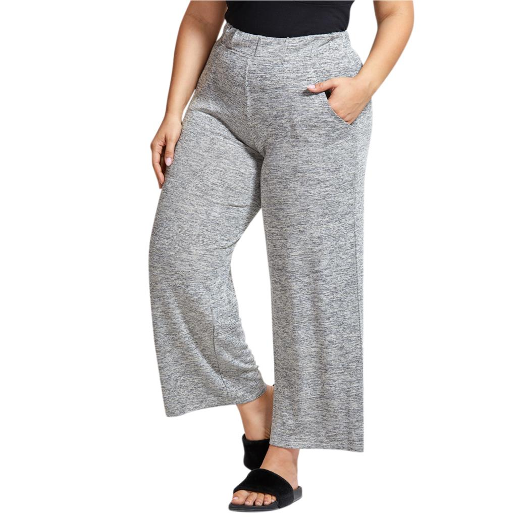 Women's Pajama Soft Wide Leg Sleep Pant Sleepwear Loose Lounge Bottoms