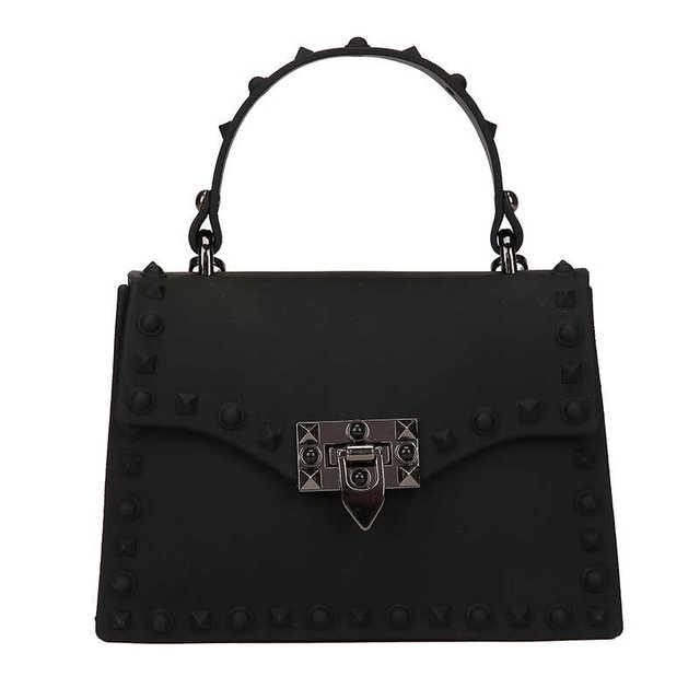PVC Hard Rivet Handbags...