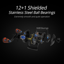 9.3:1 Gear Ratio Super Light Carbon Fiber Casting Fishing Reel