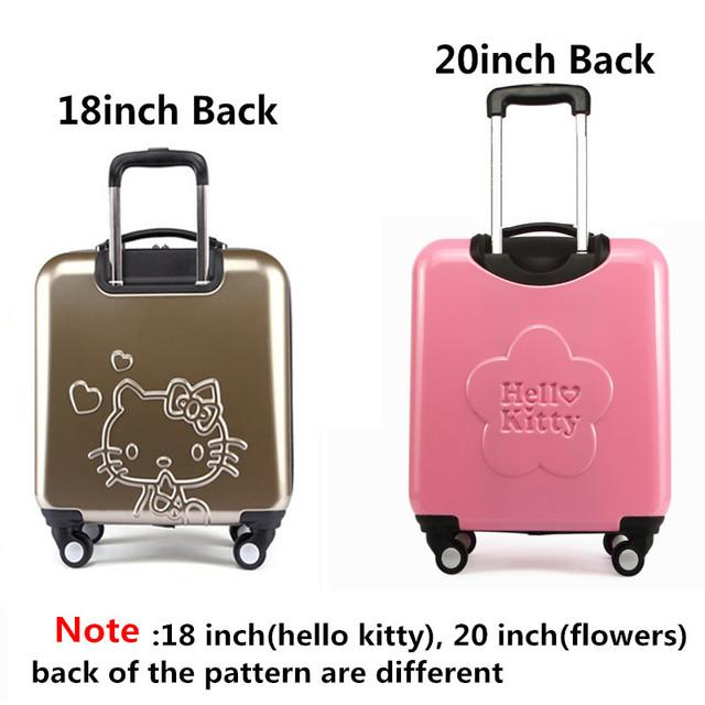 Lovely O Kitty Luggage