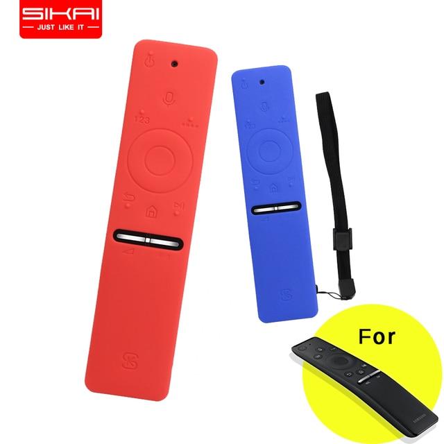 SIKAI Remote case for Samsung smart TV remote BN59 01241A BN59 01260A BN59 01266A Silicone Cover for Samsung Remote control case