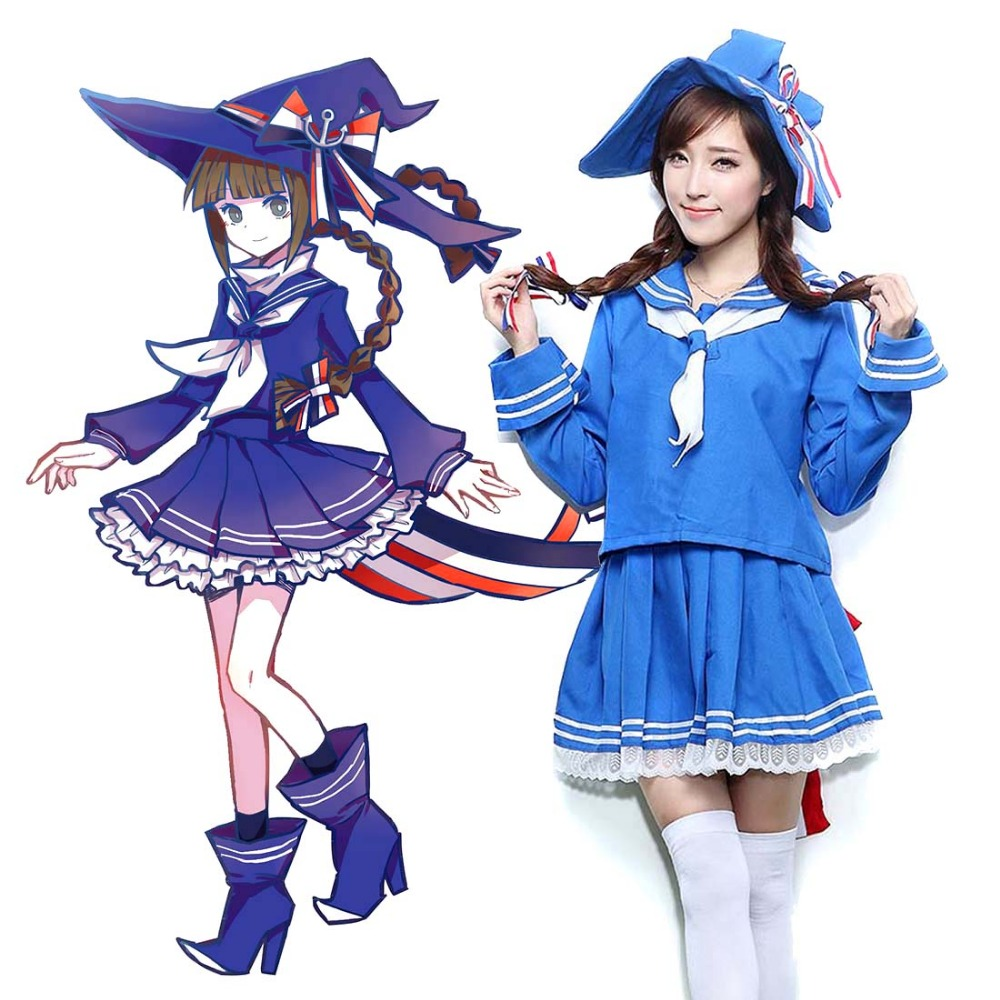 Popular Blue Witch Costume-Buy Cheap Blue Witch Costume lots from ...
