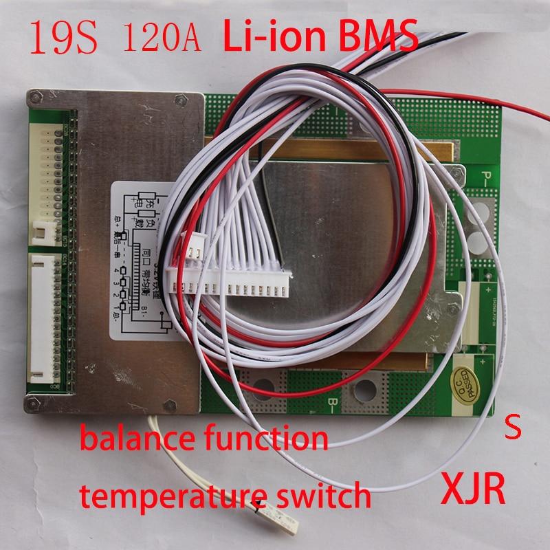 19 S 120A versie S lipo lithium Polymer BMS/PCM/PCB batterij bescherming boord voor 19 Packs 18650 ion Batterij Mobiele w/Balance-in Opladers van Consumentenelektronica op  Groep 1