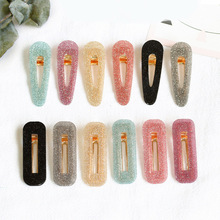 Fashion New hiny Hair Clips Girls Hairpins For Women Hairgrips Waterdrop Accessories Sweet Headwear