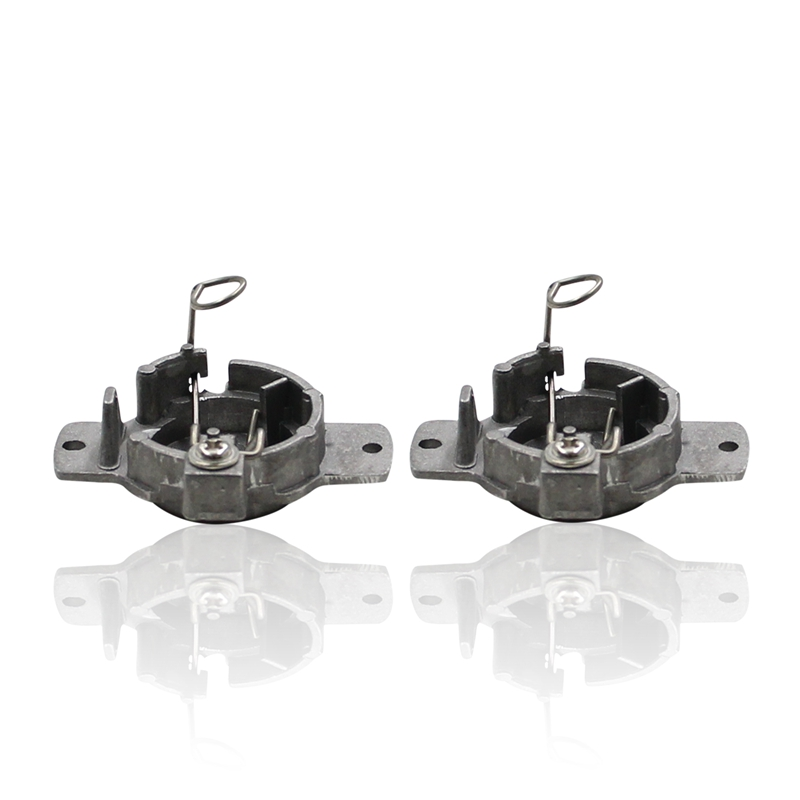 2X H7 HID Bulbs Retainer Clips Adapter Holders Audi BMW Mercedes Saab VW Porsche