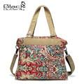 Women's Special Offer Promotion Baguette Polyester Two Zipper Canvas Handbag National Trend 2016 Messenger Bag Large Shoulder