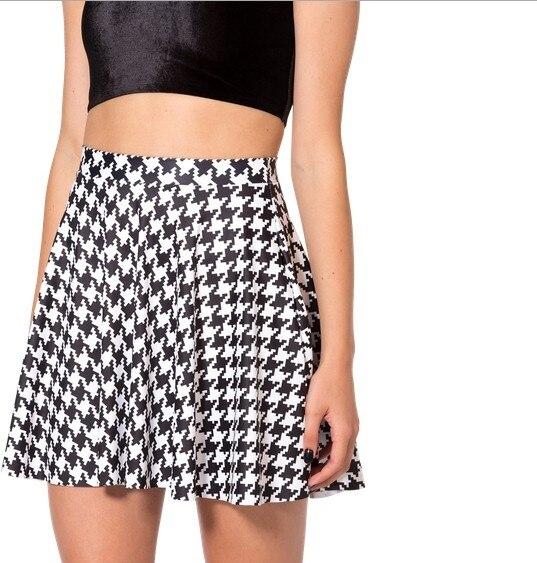 Faldas Sexis De Moda Para Mujeres Elegantes Faldas De Arte Con Estampado Digital 3d Faldas Plisadas