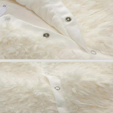 New Arrive Plush Baby Rompers Winter Thick Cotton Boys Costume Girls Warm Clothes Children Outerwear Christmas Baby Wear
