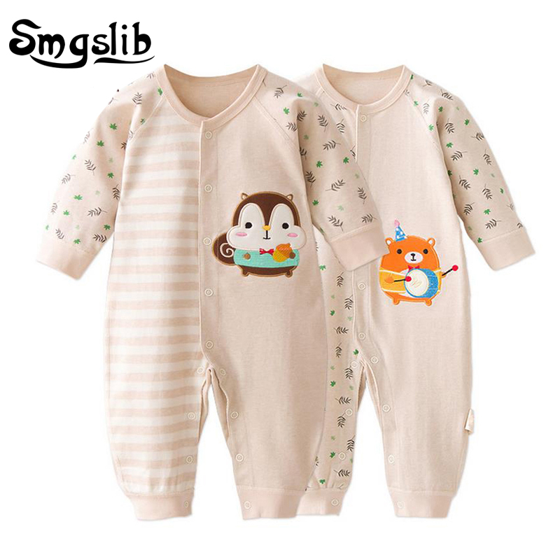Newborn Baby Clothes Cheap Long Sleeve Girl Boy 6 9 12 18 Months Cute Cotton Infant