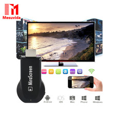 Мини TV Stick для Android Mirascreen Airplay DLNA Wi-Fi Display Miracast ТВ Dongle HDMI Multi-display Full HD 1080 P Приемник