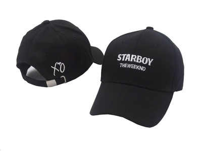 Voron 2017 Nuevo the weeknd starboy sombreros y Stargirl sombreros XO sombrero  Gorras de béisbol SnapBack 31cf26b3022