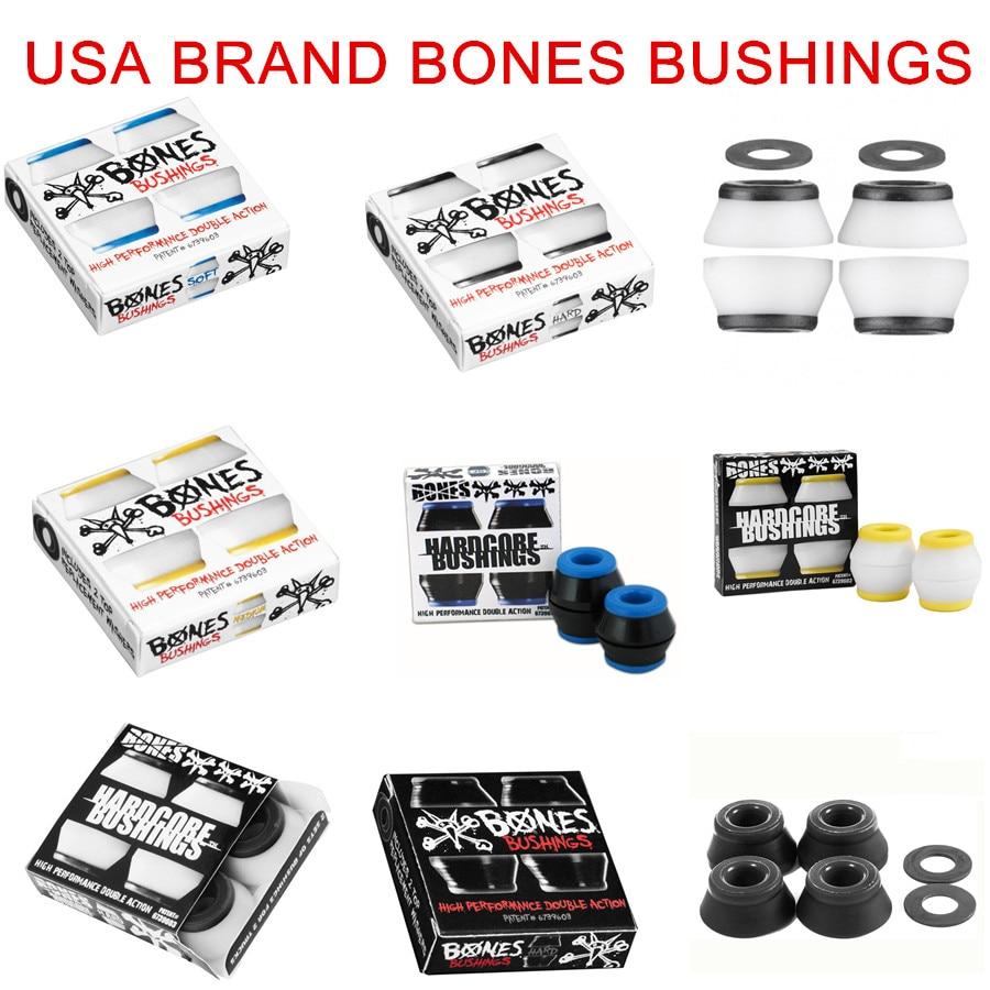 USA BRAND BONES BUSHINGS Soft Bushings High Elastic PU Shock Absorbant FOR  Skateboard Trucks-in Skate Board from Sports & Entertainment