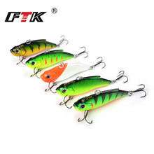 FTK Fishing Lure Kit Professional Multicolor Hard Minnow Crankbait 5pcs/lot 75mm 16.5g Floating Sinking Swim Bait Wobblers HB