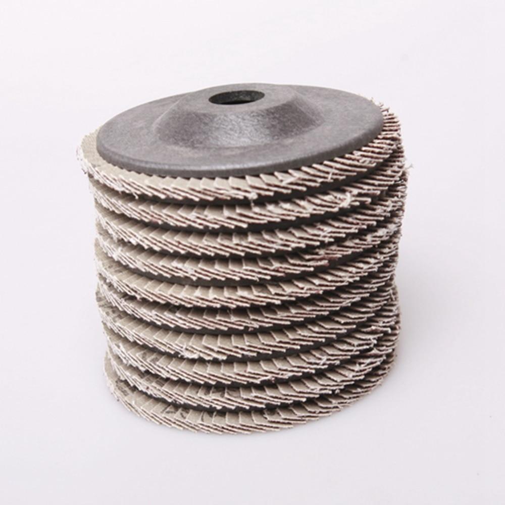 Nauji 10 vnt / rinkinio šlifavimo disko švitrinis 4 '' elektrinis - Abrazyviniai įrankiai - Nuotrauka 6