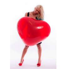 1 шт. 36 дюймов красный гелиевый сердечко любовь большой латексный шар большой гигантский шар День Святого Валентина День рождения вечеринка Свадьба украшения шары