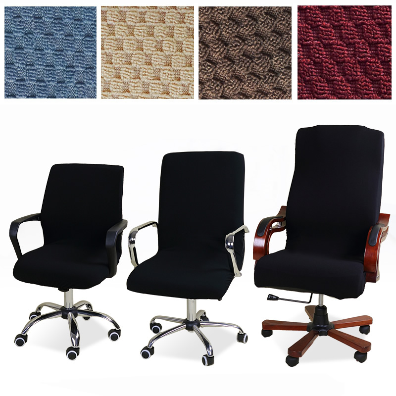 Universal Size Jacquard Chair Cover Computer Office