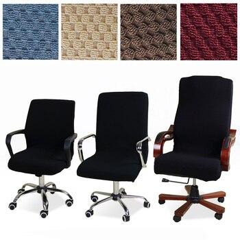 Uniwersalny Rozmiar żakardowe Krzesło Pokrywa Komputera Biuro