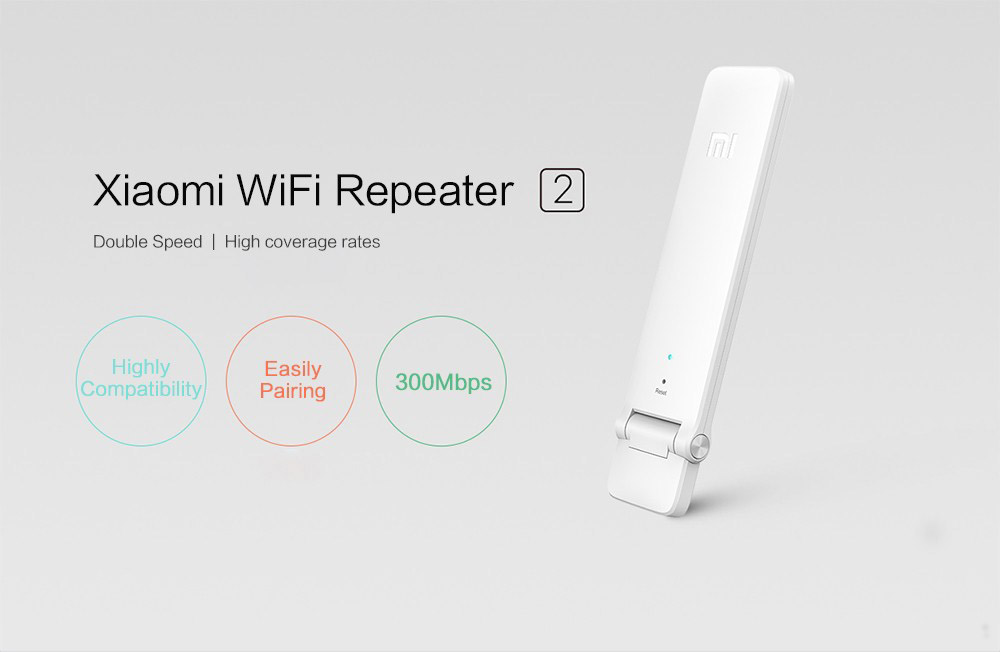 Xiaomi WIFI Repeater 2 Universal Repitidor Wi-Fi Extender 2 Amplificador 300Mbps Extende Signal Enhancement Wireless Routers (1)