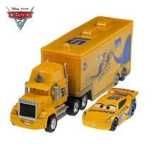 Disney Pixar Carros Diecasts Toy Vehicles 3 Dinoco Ramirez Cruz Carro Caminhão No. 51 Modelos Brinquedos Do Menino Presentes de Natal Aniversário