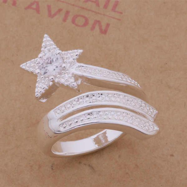 AR200 Горячая кольцо из стерлингового серебра 925, 925 серебряные ювелирные изделия, пятиконечными звездами/akrajbya allajcsa