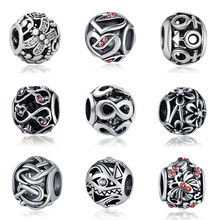 Fit Pandora Dragonfly Beads Jewelry Bijoux Bracciale Bisuteria French Bead 925 Silver Perfumes Mujer Originales Bracelet Charms(China)