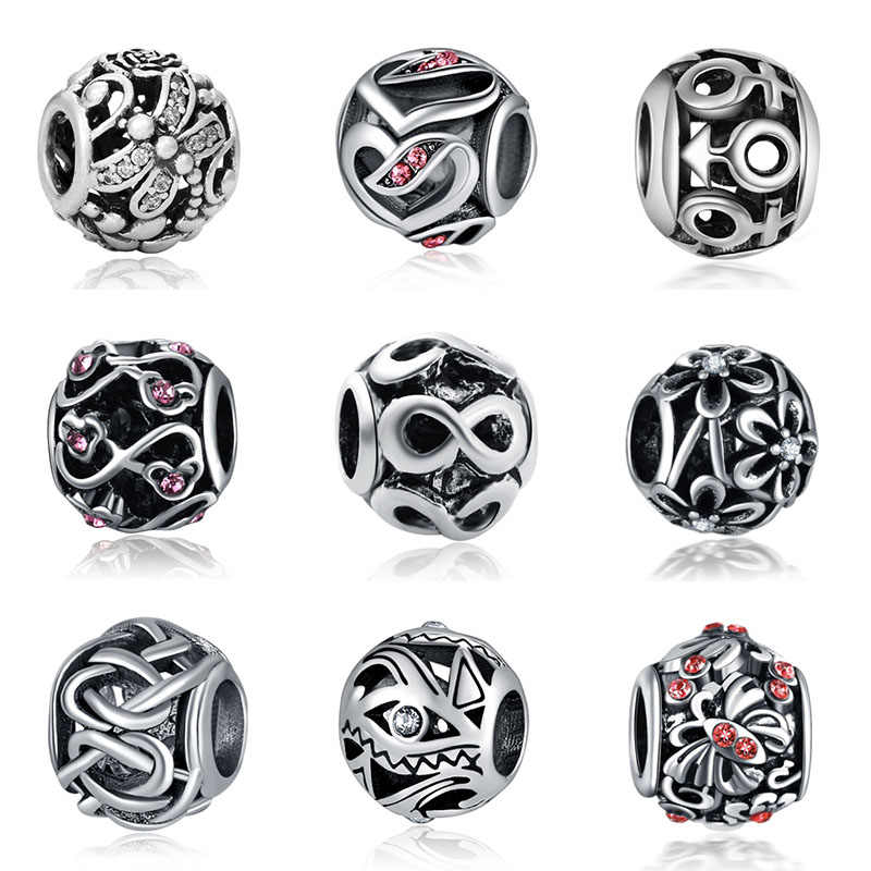 Fit Pandora Dragonfly Beads Jewelry Bijoux Bracciale Bisuteria French Bead 925 Silver Perfumes Mujer Originales Bracelet Charms