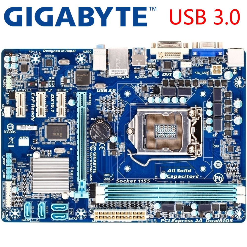 top 9 most popular h61 gigabyte motherboard list and get