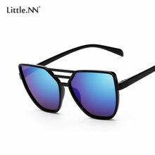 LittleNN Fashion Sunglasses Male PC Frame Oval Mirror Lens Women Sun glasses Luxury Sunglasses UV400 Oculos de sol [SGCJ044]