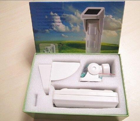 Image 3 - WIFI Alarm G90B Outdoor Motion Sensor Solar Powered External Weatherproof Pet Friendly PIR Detector with 2 PIR-in Sensor & Detector from Security & Protection