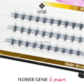 0.07 10 hairs in one flare super dense rapid  DIY use free style false eyelash extensions
