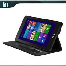 Luxe Flip PU étui en cuir pour Asus Vivotab Note 8 M80ta Vivo tab Note 8.0 Case main 8 polegada Tablet PC couvercle pliable noir couleur