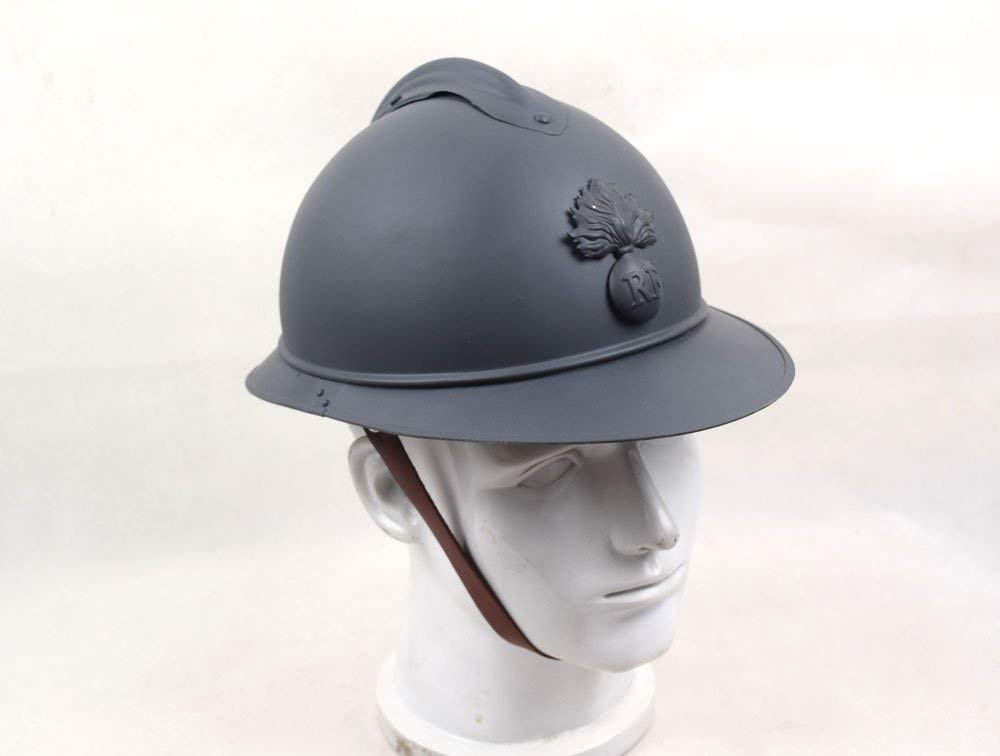 US $67 49 10% OFF WWI M1915 M15 FRANCE FRENCH ADRIAN HELMET STEEL SOLDIER  TYPE INFANTRY HELMET World military Store-in Sports Souvenirs from Sports &
