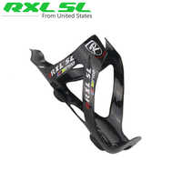 RXL SL Bicycle Bottle Cage Holder 2pcs Carbon Bottle Cages Glossy 30g Cycling Road Bicycles MTb Bikes Water Bottles Cage Holder