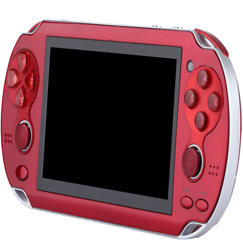 Handheld Game Console 4.3 inch screen MP4 Player Real 8GB Support For Psp Game,Camera,Video,E-book image