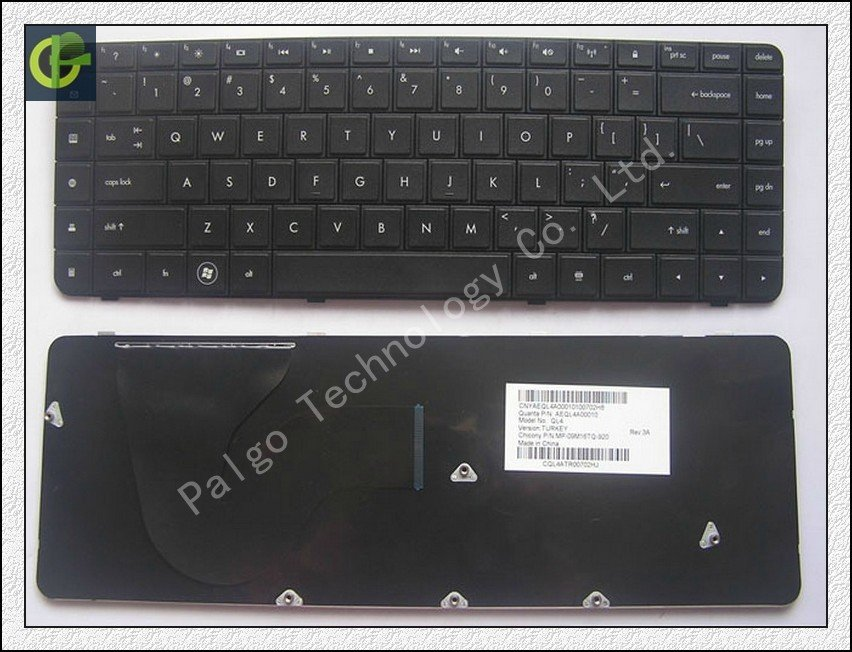 New Keyboard for HP Compaq Presario CQ62 G62 laptop keyboard US version 9Z.N4SSQ.001 цена