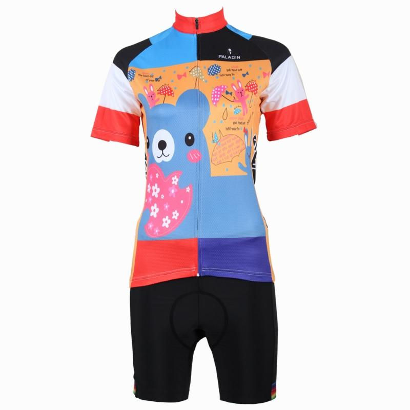 176 Top Quality Hot cycling jerseys Animals Cartoon Summer Cycling Jersey 2017s Anti UV & HOT Ladies adequate quality Sleeve Cyc 176 top quality hot cycling jerseys red lotus summer cycling jersey 2017s anti uv female adequate quality sleeve cycling clothin