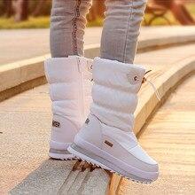 9aa6ab9379f10 2018 hiver plate-forme filles bottes enfants en caoutchouc anti-dérapant  neige bottes chaussures pour fille grands enfants imper.
