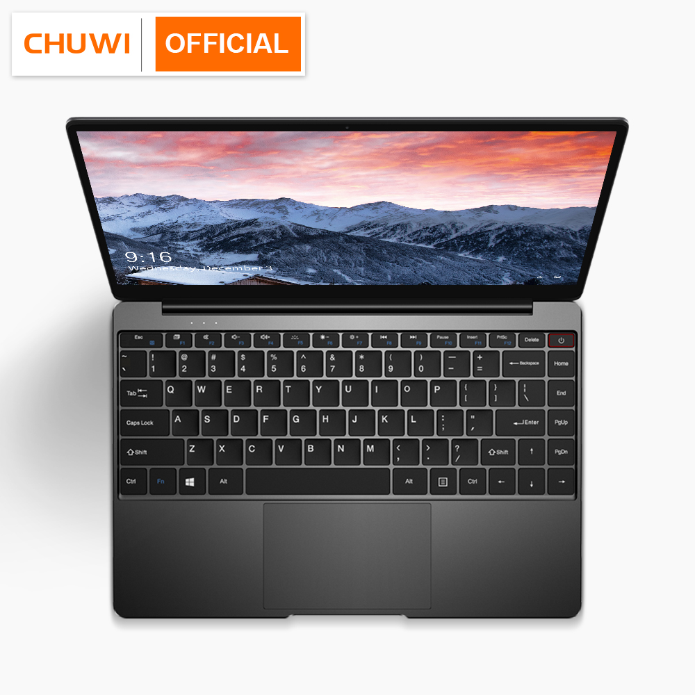 CHUWI AeroBook 13.3 Inch Intel Core M3 6Y30 Windows 10 8GB RAM 128GB ROM Laptop with Backlit Keyboard Metal Cover Notebook