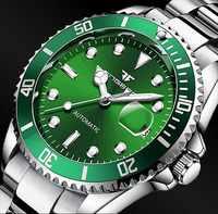 FNGEEN Top dos homens Marca de Moda De Luxo Relógio Mecânico Automático StainlessSteel Pulso À Prova D' Água Masculino Relógio Relogio masculino