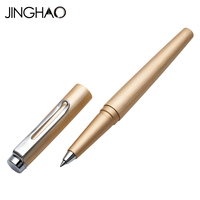 Jinghao KACO ANGLE Series High Quality Golden Rollerball Pen with Original Gift Case Luxury Metal Ballpoint Pens Office Supplies