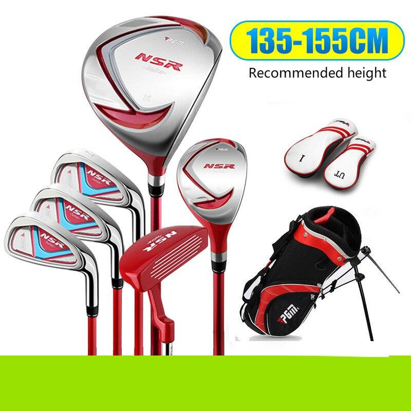 PGM Boys'Golf Club Kit  Suitable For Boys And Girls 6 Clubs JRTG006