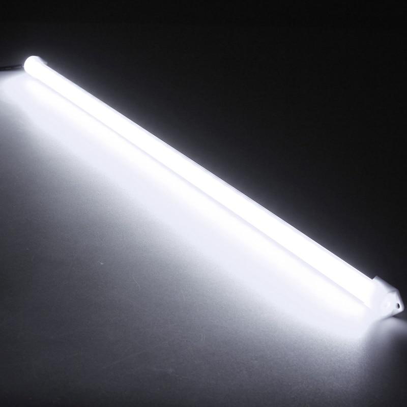 U shaped 50CM LED Bar Light 12V Aluminum Alloy Shell Under Cabinet Lamp LED Strip Hard Light Tube Bar LED Bar Lights