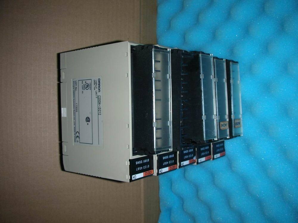 1PC USED OMRON C200H-ID212 1pc used disassemble the original omron plc module c200h md215