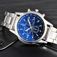 Luxury Brand Watch Men Casual Stainless Steel Clock Male Fashion Business Quartz Wrist Watch Men's Sports Watches Gifts