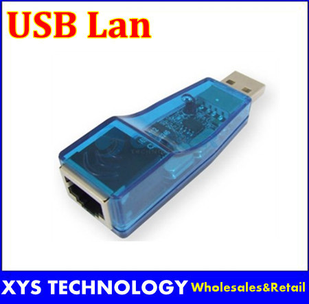 Free shipping USB1.1 to RJ45 Ethernet 10/100 Mbps USB Lan Network Card Adapter for PC,laptop External Connector A001
